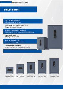 Két sắt thông minh Philips SBX601 đa dạng hạng cân