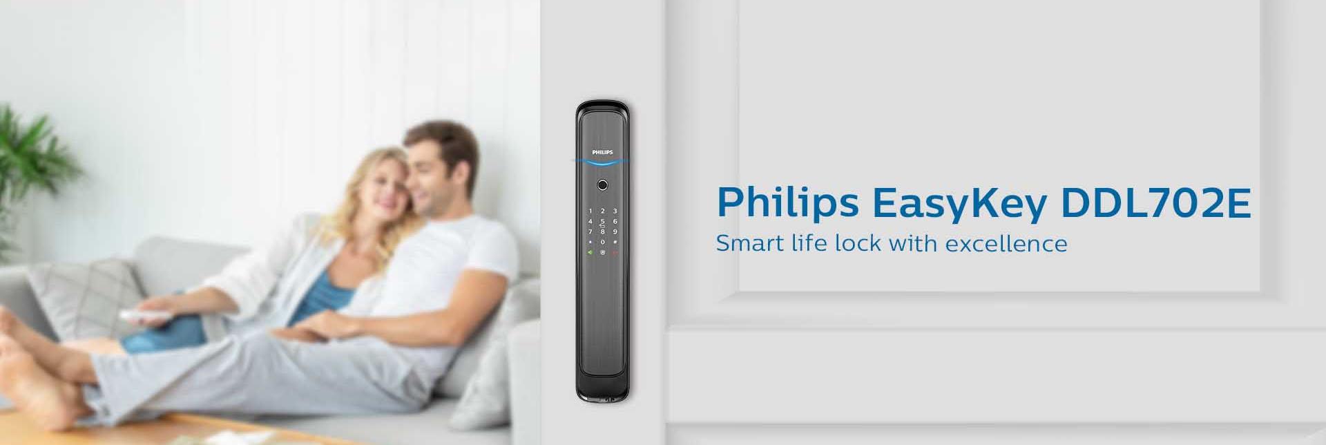 khóa cửa thông minh Philips